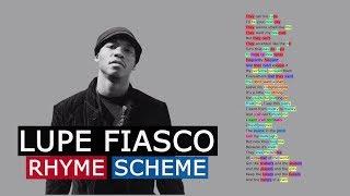 Lupe Fiasco on I Gotcha   Rhyme Scheme