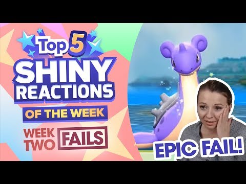 TOP 5 SHINY FAILS OF THE WEEK! Pokemon Let's GO Pikachu and Eevee Shiny Montage! Week 2