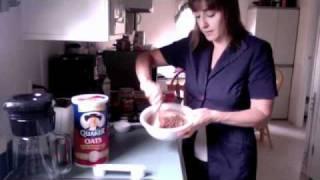 Shakeology No-bake Chocolate Pb Oatmeal Bars
