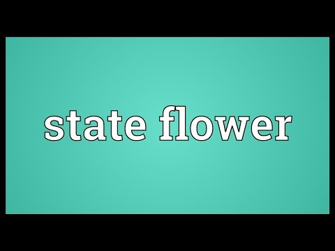 State flower Meaning