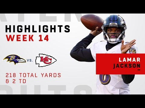 Lamar Jackson Highlights vs. Chiefs