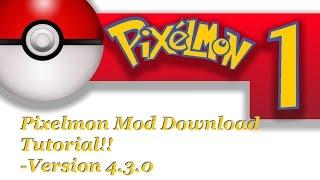 How to install Pixelmon 4.3.0 to Minecraft 1.8.9