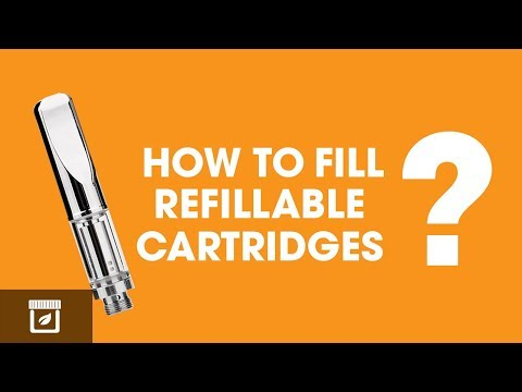 How To Fill Refillable Vape Cartridges With Cannabis Oil!