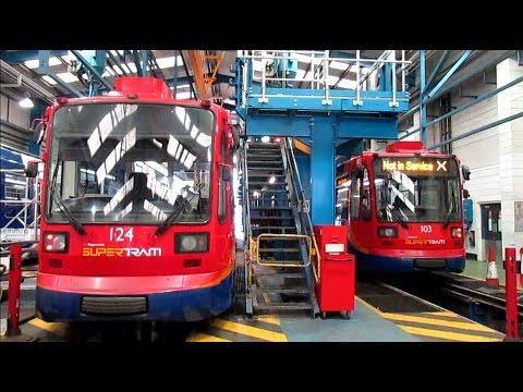 *Sheffield Supertram Depot Open Day*