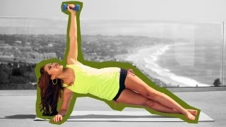 vuclip Kill That Muffin Top for Beginners | Pilates Bootcamp With Cassey Ho