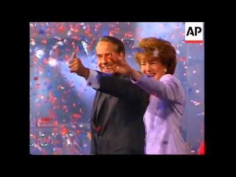 USA: ELIZABETH DOLE RETURNS TO HER JOB AS PRESIDENT OF THE RED CROSS