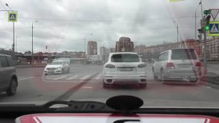 Автонакат - Развороты на больших перекрестках.
