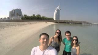 Domingo de manhã em um Hotel 7 estrelas em DUBAI