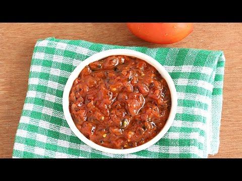 Tomato Chutney - Tasty and Healthy Side dish