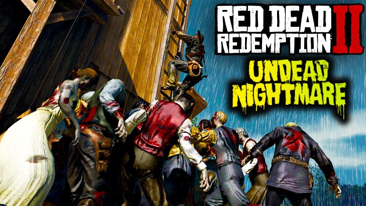Undead Nightmare DLC in Red Dead Redemption 2    (RDR2)
