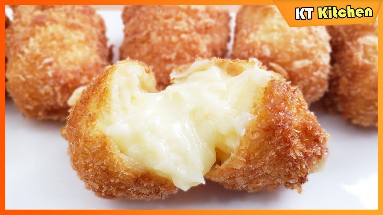 Sữa Tươi Chiên Giòn Tan Chảy – Cực Đơn Giản Dễ Làm – Fried Fresh Milk Cake Recipe – ENGLISH CAPTION