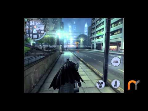 The Dark Knight Rises Bat-Pod Gameplay (iPad)