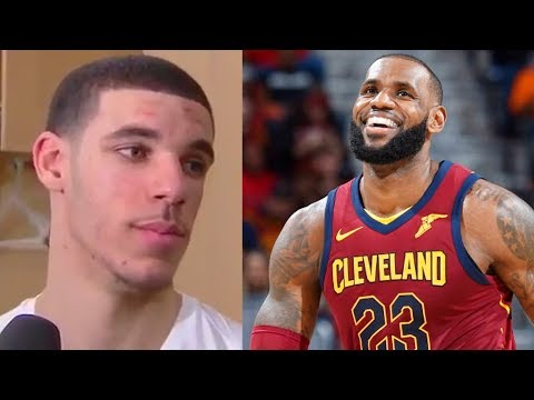 Download Youtube: Lonzo Ball Says LeBron James Is The Best Player in the NBA Before Cavaliers vs Lakers Match-up