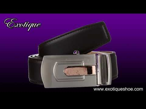 Exotique Men's Belt Collection 2019