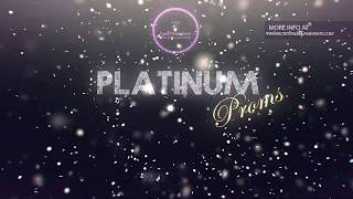 """PLATINUM PROMS"" from Crystal Dream Events"