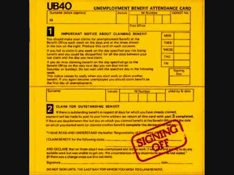 UB40 - I Think It's Going To Rain Today ( Signing Off Album ) Track 6