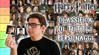 Classifico TUTTI i personaggi più potenti di HARRY POTTER
