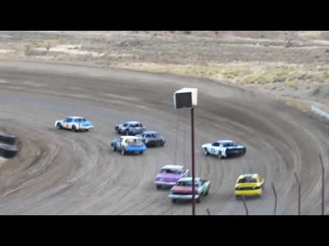 Desert Thunder Raceway Hobby/Pure Stock Heat Race 4/28/18