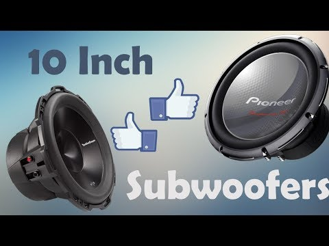 Top 10 Best 10 Inch Subwoofers for Car