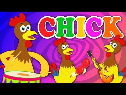 Chicken Song | Kindergarten Nursery Rhymes For Children by Kids Tv