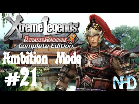 Dynasty Warriors 8 XLCE [PC] (Ambition Mode pt21 - Zhou Tai) Training Grounds (falcon punched)