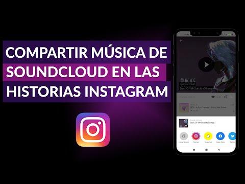 Cómo Compartir Música de SoundCloud en las Historias de Instagram