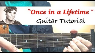 Once In A Lifetime One Direction Complete GUITAR TUTORIAL
