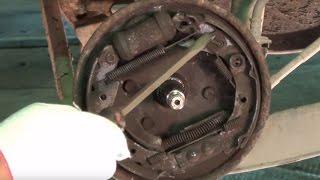 Задние тормоза Матиз. Общее устройство.(Ролик рассказывает о том, как устроены задние тормоза Матиз, и какие проблемы с ними могут возникнуть у..., 2013-11-08T06:10:32.000Z)