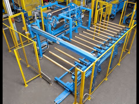 Short Roll Winding Machine and Roll Handling System
