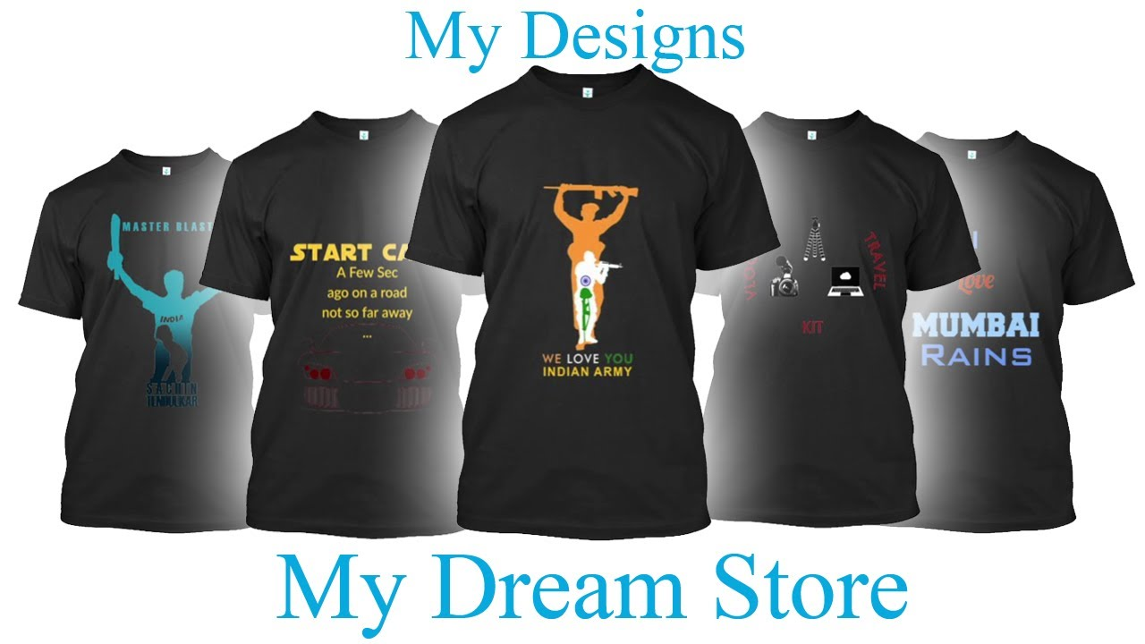 T shirt ad my dream store info on selling tshirts for Where can i sell my shirts online