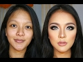 Transforming 3D Contour Makeup Tutorial for Indonesian