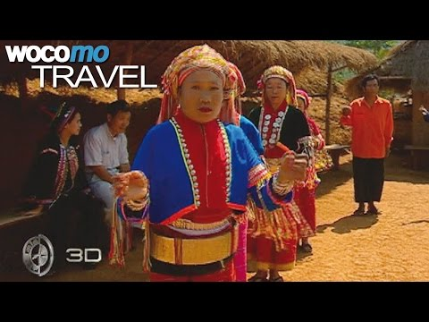 Thailand - A fascinating journey from Bangkok to Akha | 3D Planet