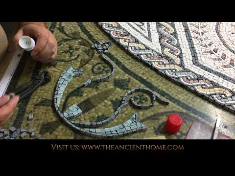 Making a Roman Mosaic with Indirect Method