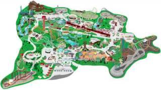 Six Flags Magic Mountain (Interactive Map!)