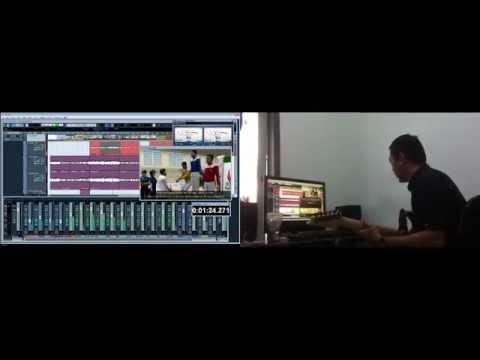 Short Music Composing using Angklung and Gamelan VST