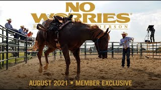 August NWC Preview: Colt Starting Clinic, Day 2  1st Saddling