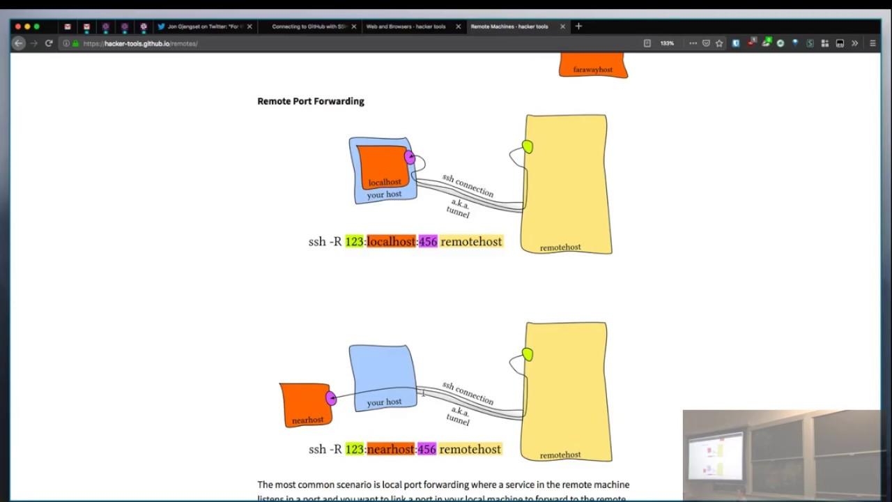 Remote Machines · hacker tools