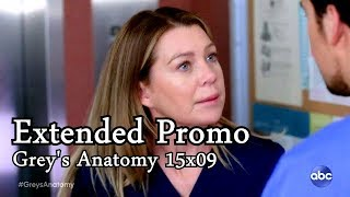 "Grey's Anatomy 15x09 Extended Promo  ""Shelter from the Storm"" Season 15 Episode 9"