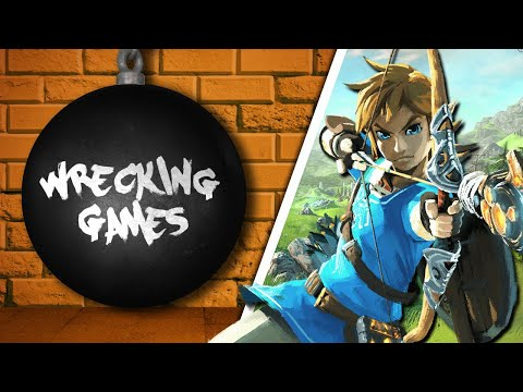 WRECKING GAMES #9 - The Legend of Zelda: Breath of the Wild (feat. Akyn Feev)