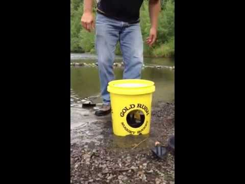 The Best Gold Panning Kit: The Gold Rush Nugget Bucket