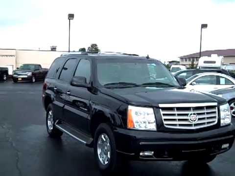 SOLD 2006 Cadillac Escalade - V1719 - YouTube