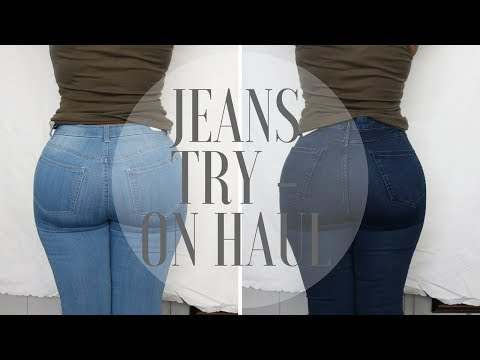 The Best Jeans That Make Your Butt Look Good l Try On Haul