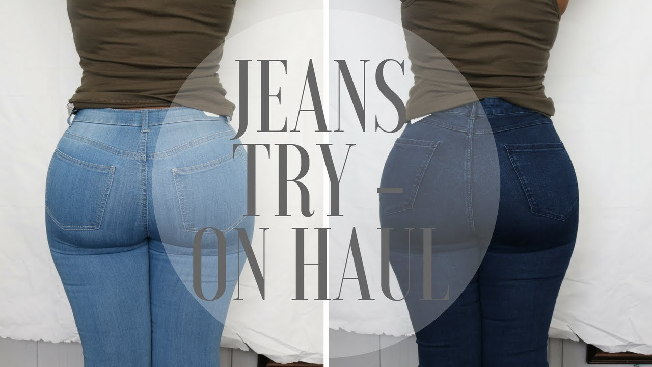ce99227ee23 The Best Jeans That Make Your Butt Look Good l Try On Haul - YouTube