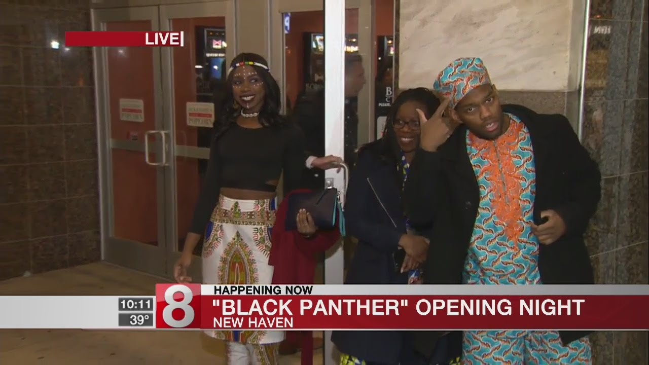 """""""Black Panther"""" fans turn out in droves across Connecticut - Dauer: 2 Minuten, 34 Sekunden"""