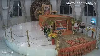 14-7-2020, 6:30 pm, Evening Meditation from Nirmal Dham, The Abode of Shri Adi Shakti