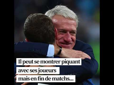 Coupe du monde 2018: le captivant Didier Deschamps