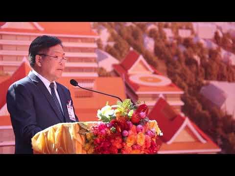 Laos, China break ground for modernised Mahosot Hospital  .