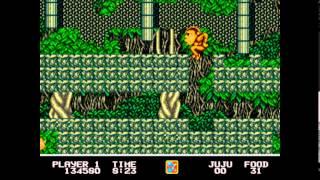 Toki: Going Ape Spit - Mega drive / Genesis Longplay
