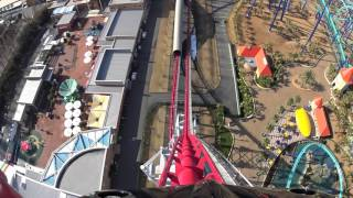 Steel Dragon 2000 Roller Coaster - Nagashima Spa Land, Japan - Front Seat On-Ride POV
