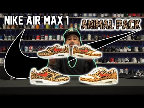 Unboxing new and old  Nike Atmos Animal Pack *Crazy differences - 11 years apart*